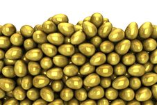 Free Gold Eggs Stock Image - 22897391