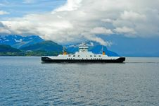 Free Ferryboat On The Fjord Stock Photos - 22897493