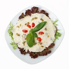Dairy Veal With Tuna Sauce Stock Photo