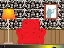 Free Interior Illustration Royalty Free Stock Photography - 22898767