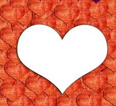 Free Heart Shape Grunge Background Royalty Free Stock Photography - 22899547