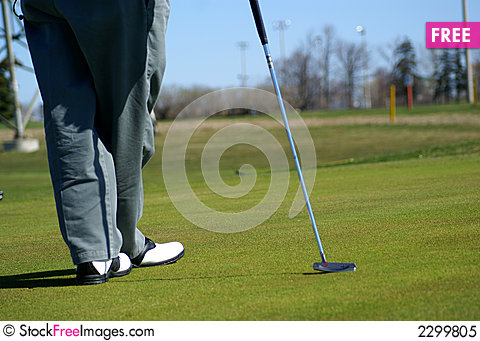 Free Recreation Park Golf Area Royalty Free Stock Photo - 2299805