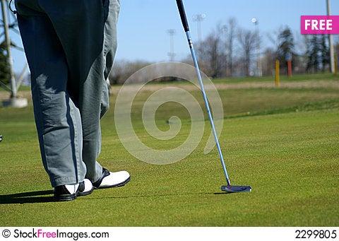 Free Recreation Park Golf Area Royalty Free Stock Photo - 2299805