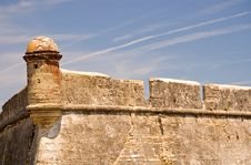 Free Outer Wall Of Historic Fort Stock Photography - 2290262