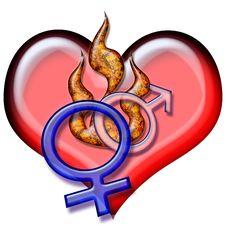 Free Love Symbols Stock Image - 2290351