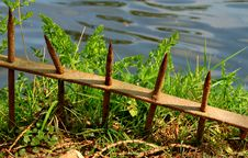 Free Rusty Railings Royalty Free Stock Images - 2290429
