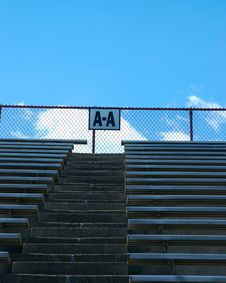 Free A-A Stadium Seats Royalty Free Stock Photos - 2290988