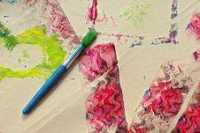 Free Child Craft Textures Stock Photo - 2292490