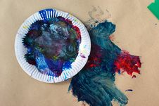 Free Child Craft Textures Stock Photography - 2292512