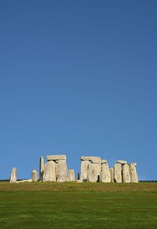Free Ancient Stonehenge In England Royalty Free Stock Photos - 2292528