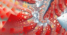 Free Fractal Party Background Royalty Free Stock Images - 2293489