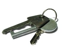 Free Bunch Of Old Keys Isolated Stock Photos - 2294283