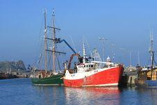 Free Docked Boats Stock Image - 2294721