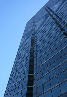 Free Blue Glass-windowed Skyscraper Stock Image - 2295601