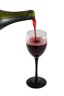 Free Pouring Red Wine Stock Photo - 2295860