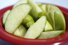 Free Juicy Sliced Apples Stock Photo - 2297220