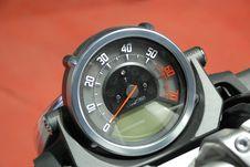 Free Tachometer Of Modern Bike Royalty Free Stock Photo - 2297635