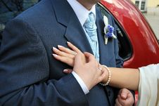 Free Hands Of Bride And Groom Royalty Free Stock Photo - 2297715