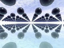 Free Infinity. 3D Render. Royalty Free Stock Photo - 2297755