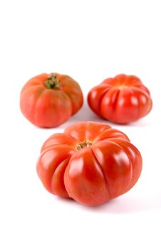 Free Ripe Tiger Tomatoes Stock Photography - 2297782