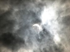 Free Partial Solar Eclipse Royalty Free Stock Photo - 2298915
