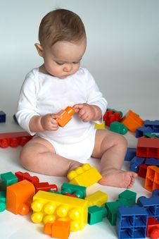 Free Baby Blocks Stock Photography - 2299472