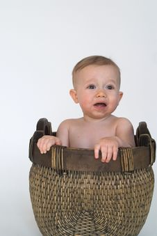 Free Basket Baby Royalty Free Stock Photos - 2299558