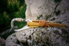Free Carabiner Stock Photography - 2299822