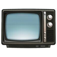 Free Retro TV Blue Royalty Free Stock Photography - 22900127