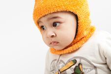 Free Indian Curious  Boy Baby Stock Photo - 22901300