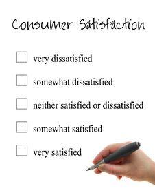 Free Consumer Satisfaction Stock Photos - 22904883