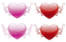 Free Valentines Hearts Royalty Free Stock Image - 22905386