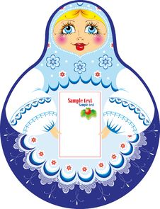 Free Russian Traditional Doll Royalty Free Stock Images - 22906399