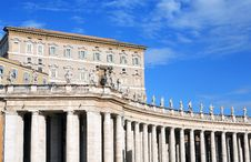 Free Papal Apartments, Vatican Royalty Free Stock Photos - 22907288