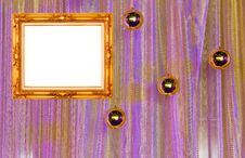 Free Gold Frame On Curtain Wall Stock Images - 22907454