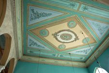 Free Clasical Handcraft Ceiling Fresco Stock Images - 22909204