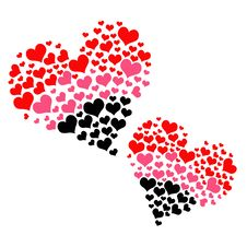 Free Double Hearts Stock Photo - 22912550