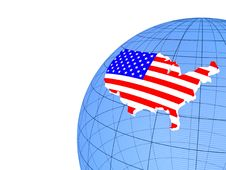 Free The Flag Of United States Stock Photography - 22913722