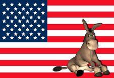 Free Democrat Donkey - 1 Stock Photo - 22913840