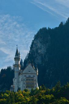 Free Neuschwanstein Castle Landscape Stock Images - 22914324