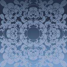 Free Floral Design Blue Stock Photo - 22915640