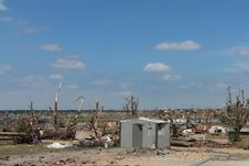 Free Tornado Damage As Far As The Eyes Can See Royalty Free Stock Image - 22927616
