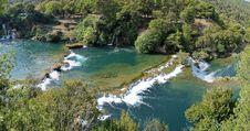 Free Krka Waterfalls Stock Photos - 22928383