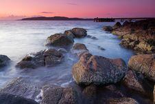 Free Sunset Scoltland Royalty Free Stock Image - 22929826
