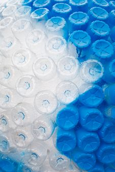 Free Pattern Of Empty Plastic Bottles Stock Photo - 22931650