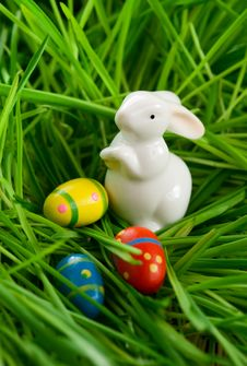 Free Easter Rabbit Royalty Free Stock Photo - 22932315