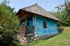 Old Farmhouse Stock Image