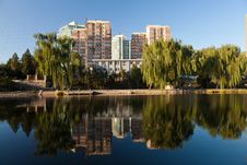 Free Skyline Of Beijing Royalty Free Stock Photos - 22938758