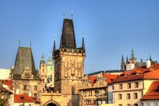 Malostranska Mostecka Vez, Monuments Prague Royalty Free Stock Images