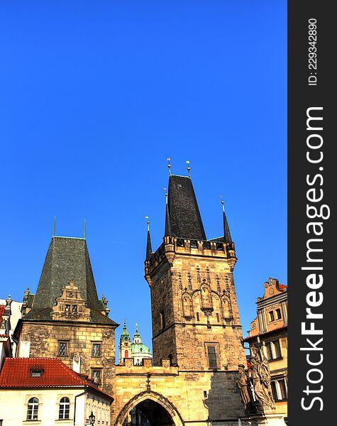 Malostranska mostecka vez, monuments Prague